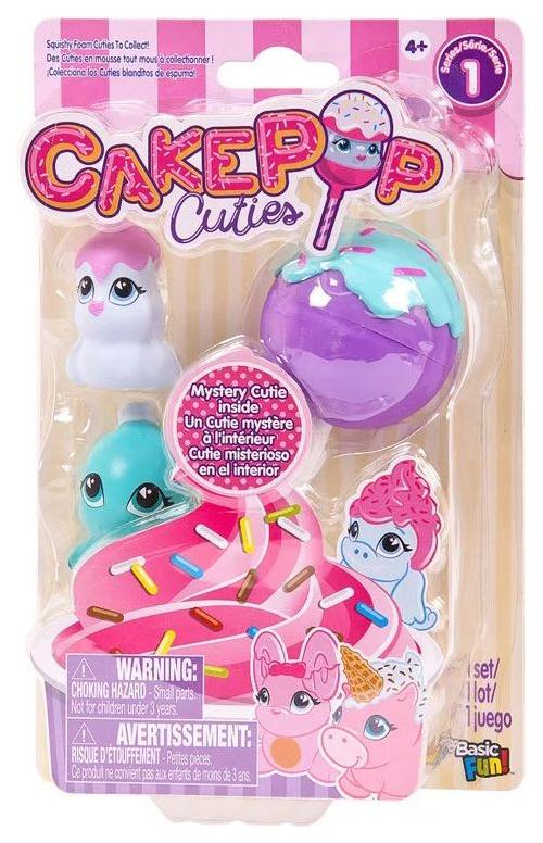 Купить Набор игрушек Basic fun Cake Pop Cuties 2 серия 3 штуки в наборе 27170-2, Игровые наборы
