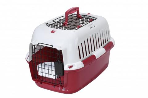 Переноска для животных Ebi 32x49x32см красный