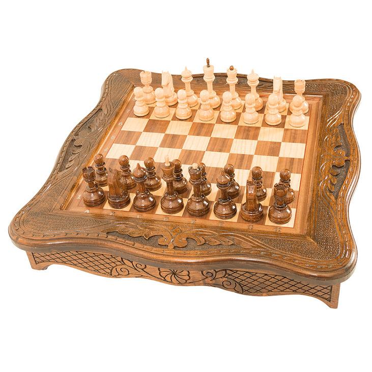 Купить Шахматы резные Haleyan в ларце 50,