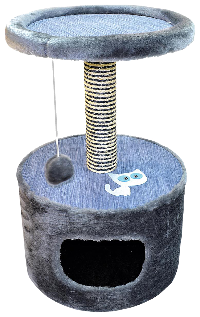 Комплекс для кошек Зооник (42х66 см) Круглый