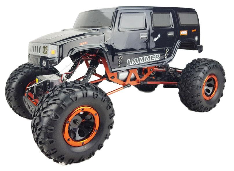 Купить Радиоуправляемая машинка HSP Pangolin Electric Off-Road Crawler 4WD Черный,
