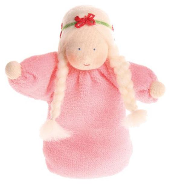 Купить Мягкая кукла с лавандой Grimm's 22052 Розовая, Grimms, Куклы