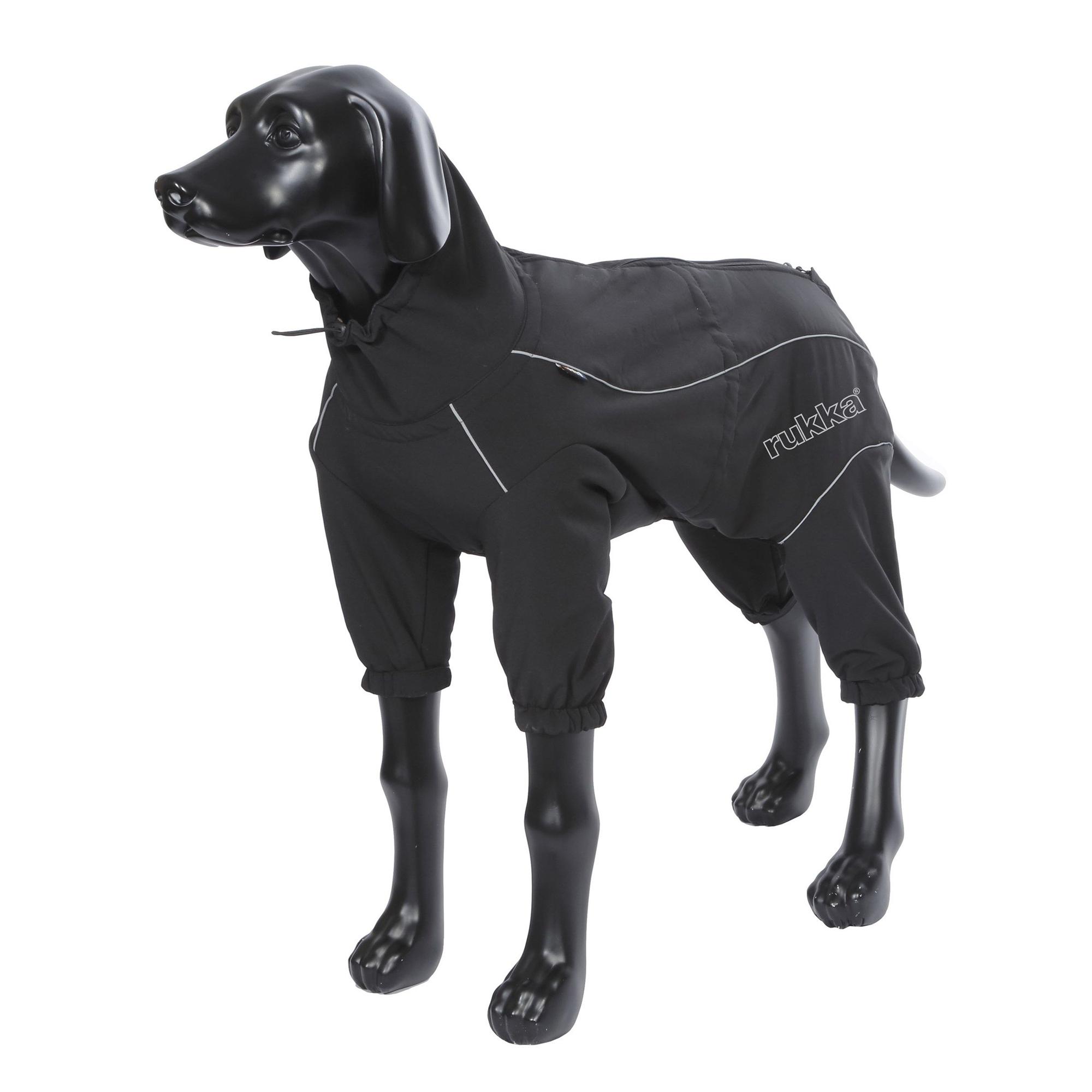 Комбинезон для собак RUKKA Thermal Overall черный