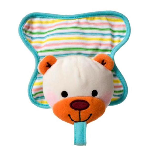 Купить Infantino игрушка для пустышки медвежонок,