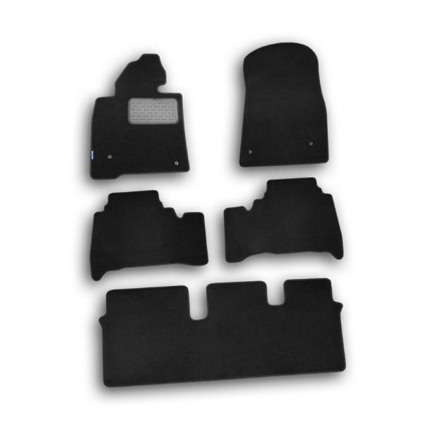 Коврики в салон Klever Standard для TOYOTA Land Cruiser 200 2007-2012, 4 шт. текстиль