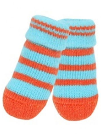 Носки для собак Puppia Nitty Gritty, голубые