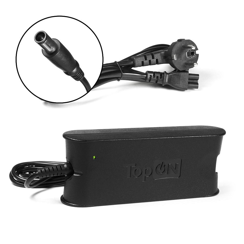 Блок питания TopON для ноутбука Dell Inspiron 19.5V 4.62A (7.4x5.0mm) 90W
