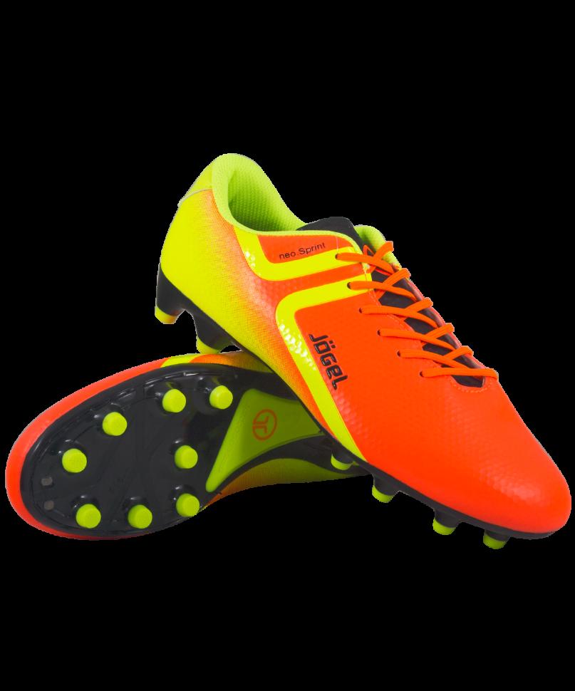 Футбольные бутсы Jogel Rapido JSH1001, оранжевые, 42 EU