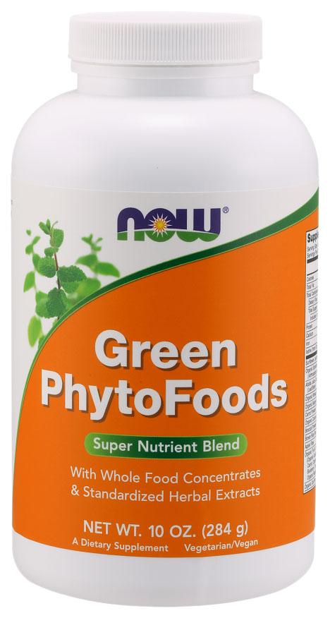 Зеленая пища (Green PhytoFoods), 283 гр, NOW фото