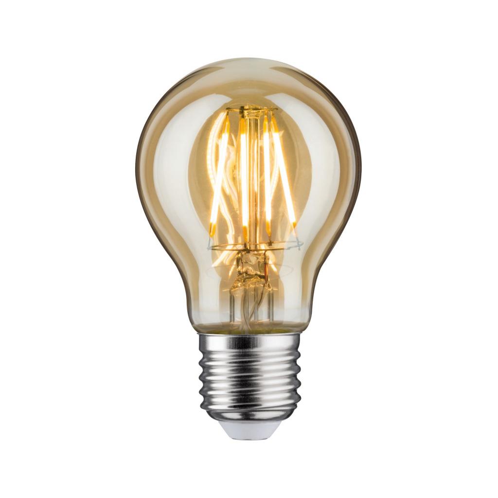 Лампа стандартная LED AGL 500lm E27 4,7W gold 28714