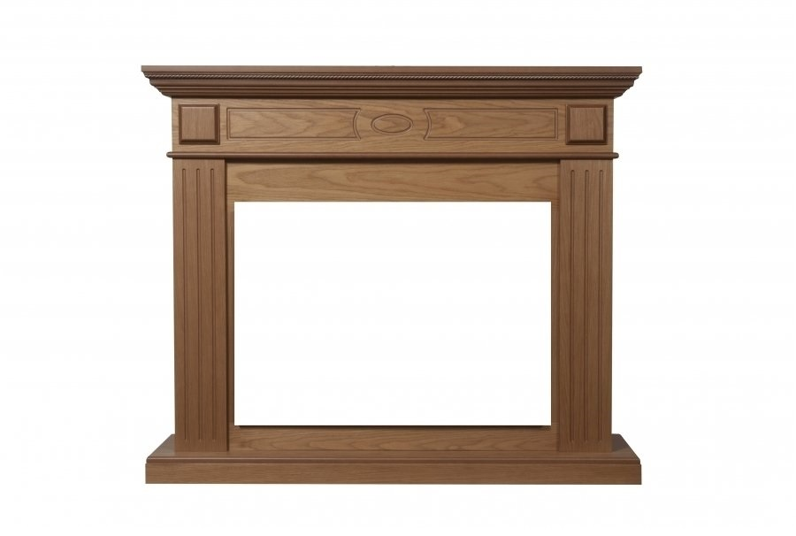 Деревянный портал для камина Electrolux Bianco Classic
