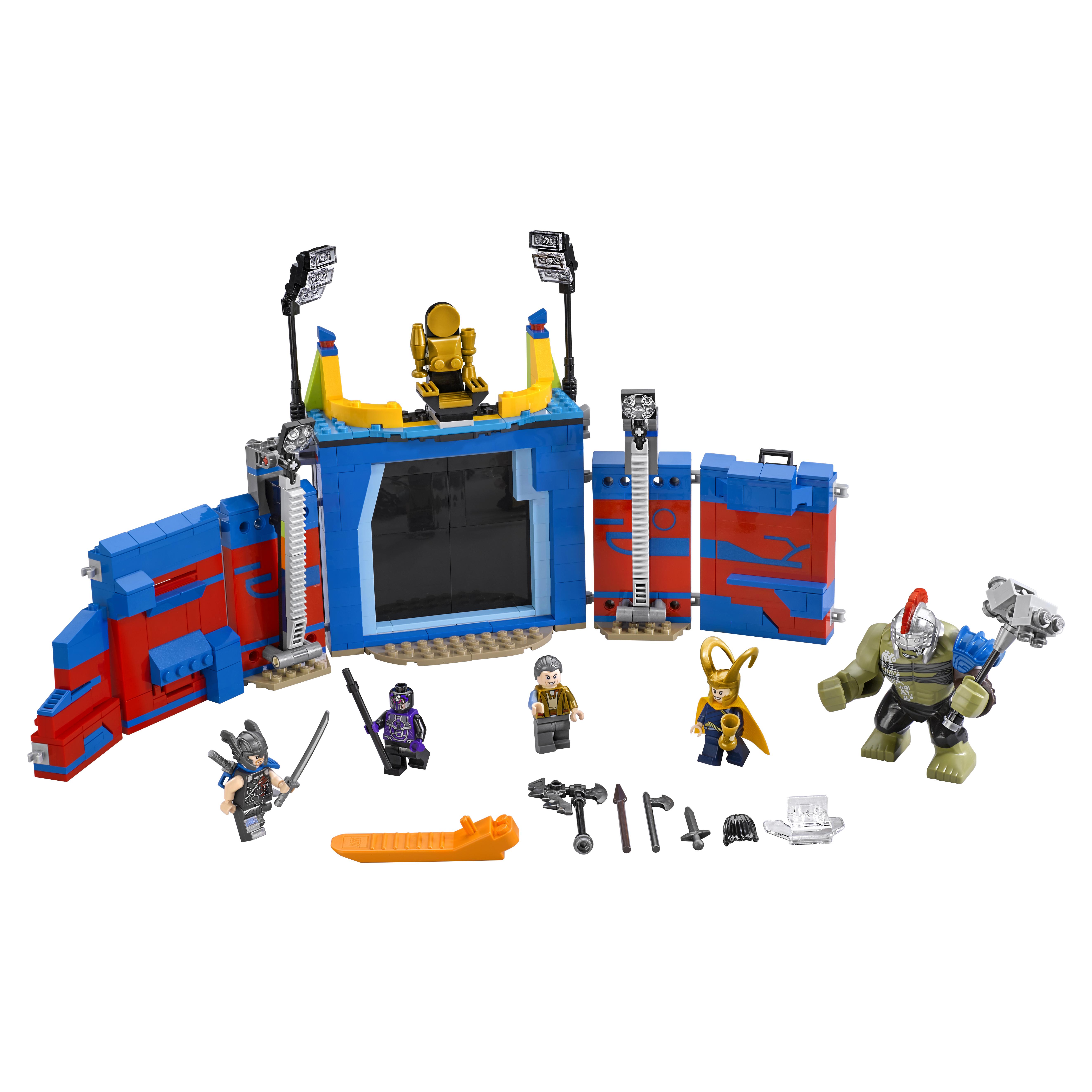 Конструктор LEGO Super Heroes Тор против Халка: Бой на арене (76088)