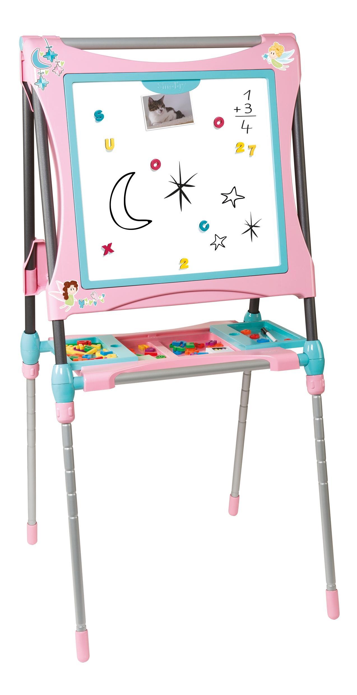 Розовый, Мольберт-трансформер, розовый, 63*63*125см, 1/2, Smoby, Мольберт для рисования  - купить со скидкой