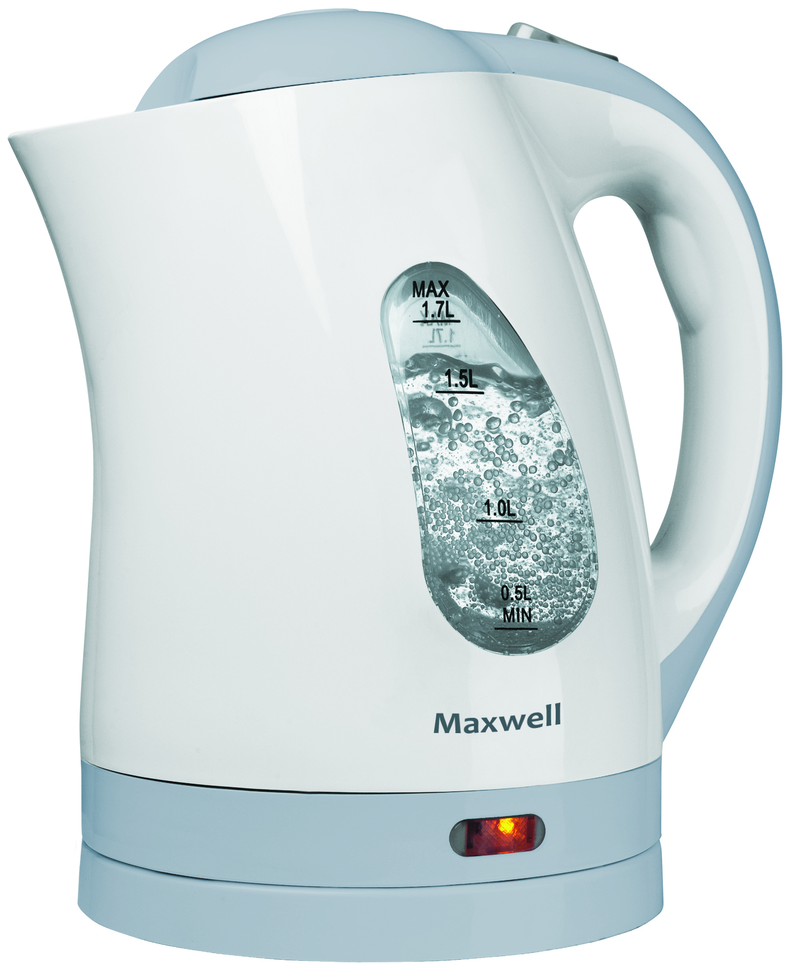Чайник электрический Maxwell MW 1014 White/Blue