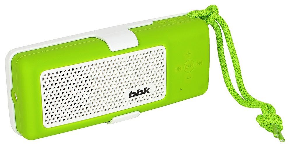 Портативная колонка BBK BTA190 Зеленый, 1.0, mini
