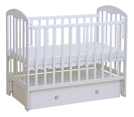 Кровать-маятник детская Фея 328 Белая