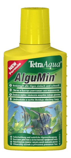 Средство для аквариумных растений TETRA AlguMin борьба