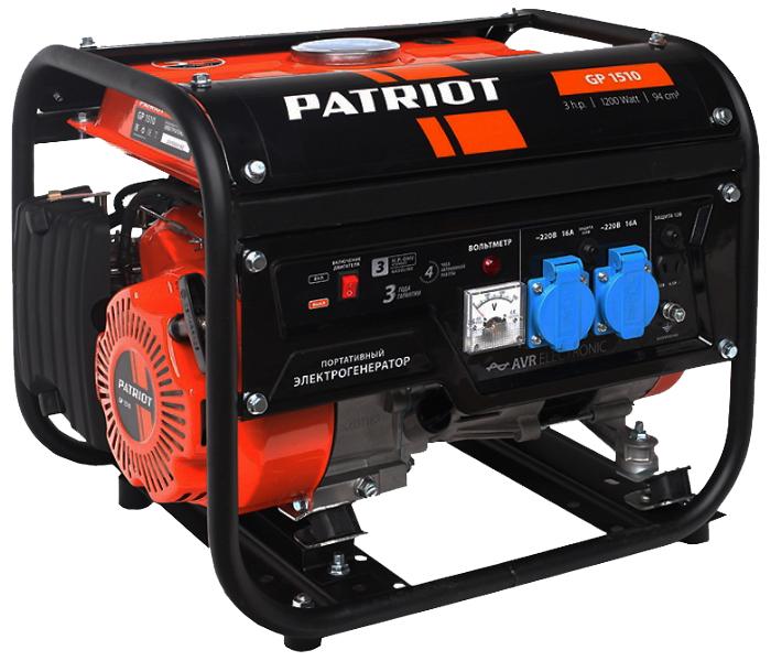 Бензиновый генератор Patriot GP 1510 474101525