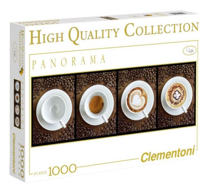 Пазл Clementoni Кофе 1000 деталей