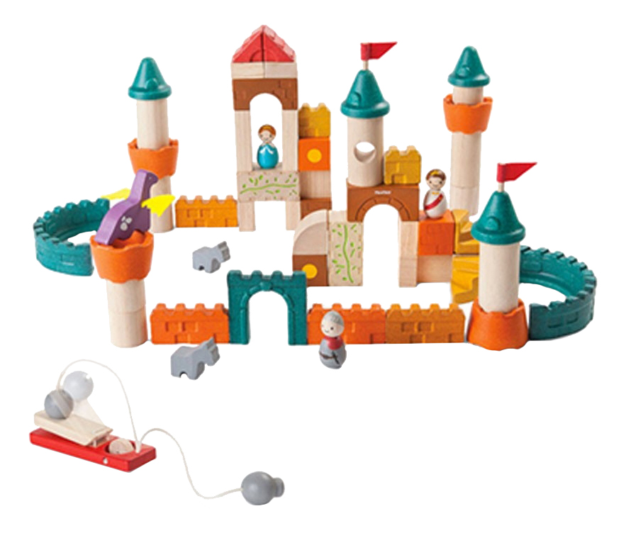 Купить Конструктор деревянный Plan Toys Конструктор Фантазия, PlanToys, Деревянные конструкторы