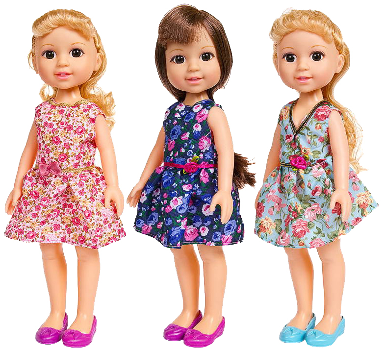 Купить Кукла ABtoys Времена года PT-00677WJ-A9020 30 см, Классические куклы