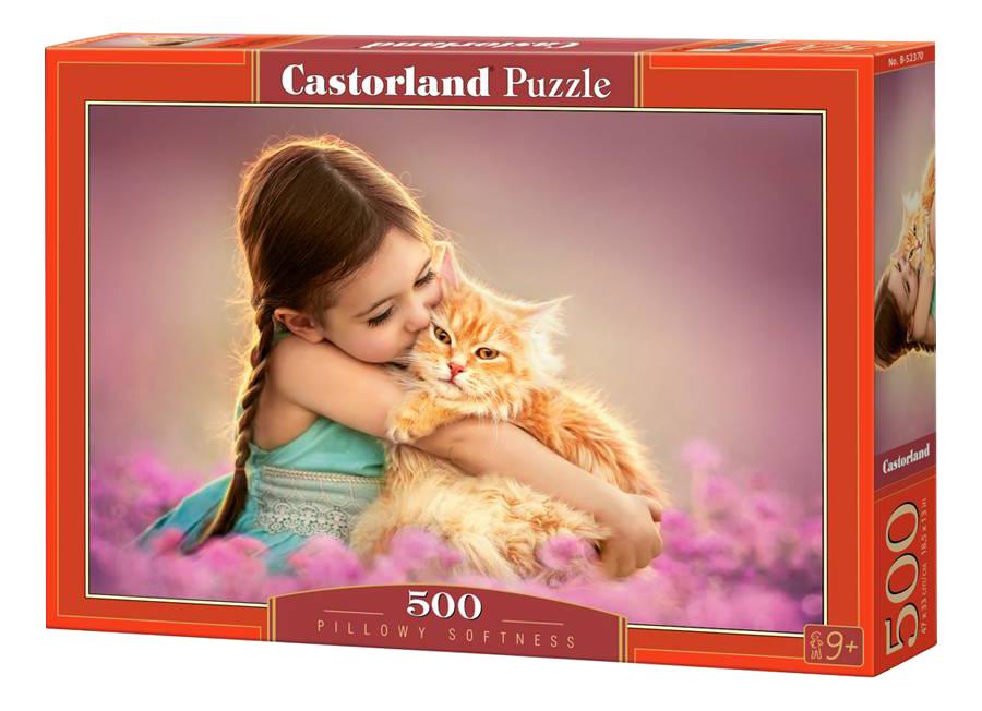 Купить Пазл Castorland Рыжий котенок 500 деталей, Пазлы