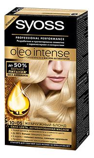 Краска для волос Syoss 10-05 Жемчужный блонд 50 мл