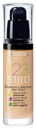 Тональный крем BOURJOIS 123 Perfect New, тон №51 легкая ваниль