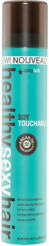 ЛакSEXY HAIR Reinvent Soy Touchable Weightless Hairspray, подвижной