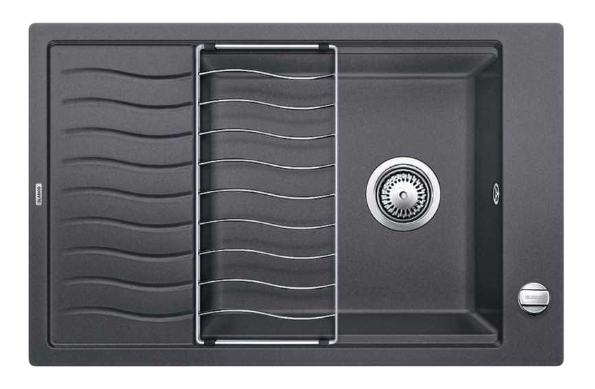Мойка для кухни гранитная Blanco ELON XL 6 S 518736 темно-серый