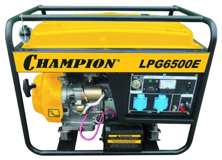 Газовый генератор Champion LPG6500E