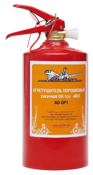 Огнетушитель автомобильный Airline AO OP1