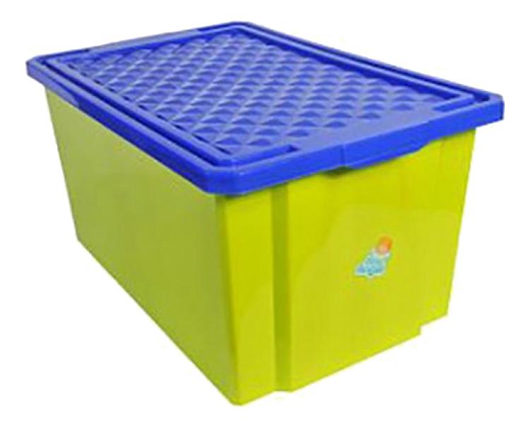 Ящик для хранения игрушек Plastic Republic 57 л фисташковый