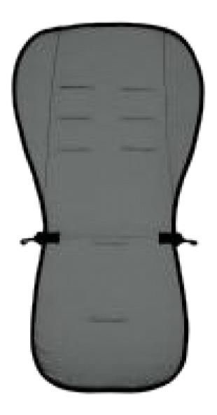 Купить Матрасик в коляску Altabebe Lifeline Polyester+3D Mesh Dark Grey, Аксессуары для детских колясок