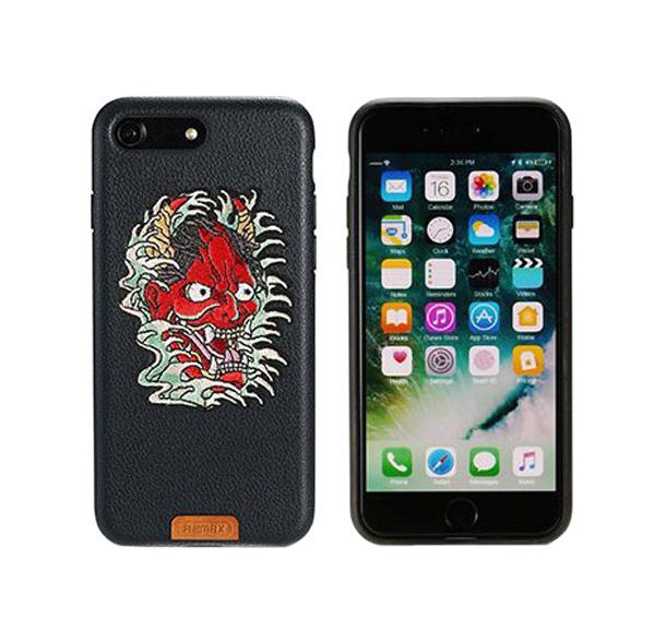 Чехол-накладка Remax Stitch Ganesha для Apple iPhone 7 Black