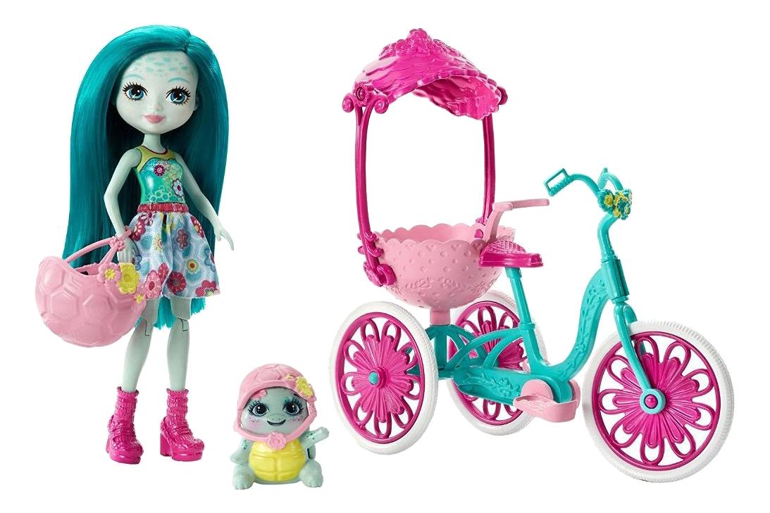 Куклы Enchantimals Mattel на прогулке FJH11/FCC65
