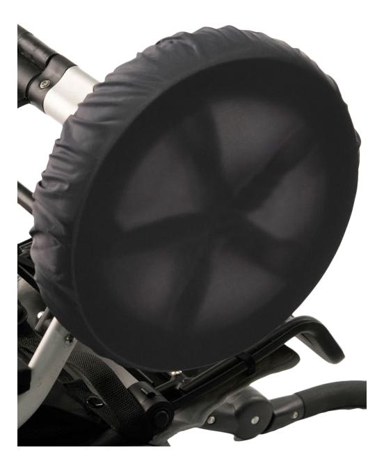 Чехол на колеса детской коляски Чудо-Чадо 4 шт. 40-45 см мокрый асфальт