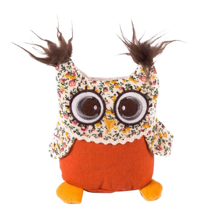 Мягкая игрушка Gulliver Совенок с вышивкой фото