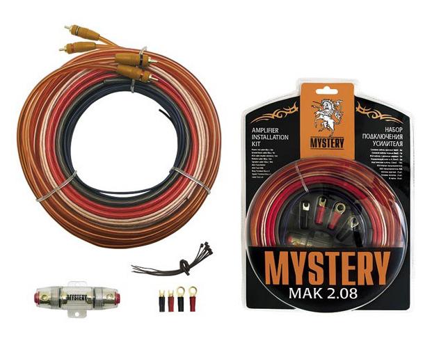 Комплект проводов для подключения усилителя Mystery
