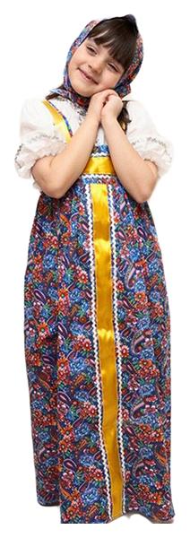 Купить 1706, Карнавальный костюм Бока Марфуша, цв. разноцветный р.122,