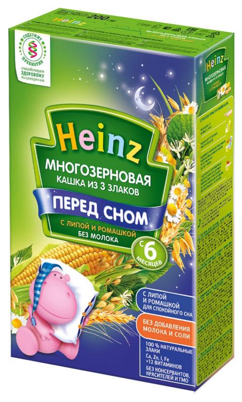 Каша безмолочная Heinz Многозерновая 3 злака