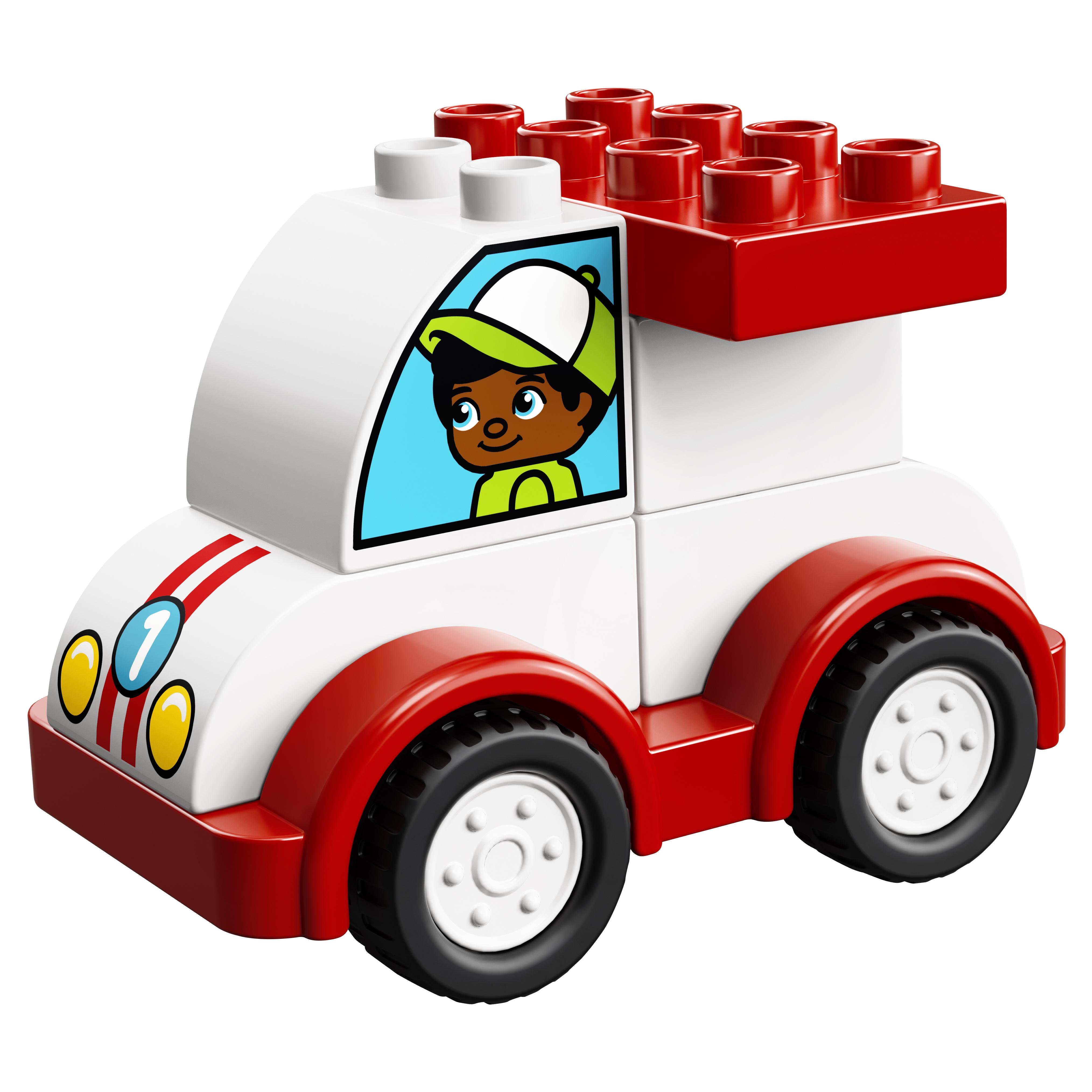 Конструктор LEGO Duplo My First Мой первый гоночный автомобиль (10860) фото