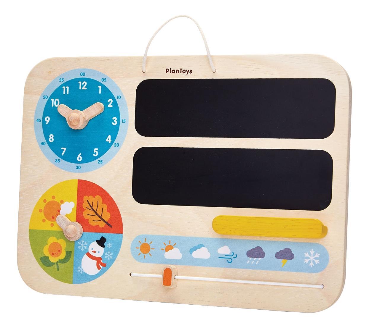 Купить Деревянная игрушка для малышей PlanToys Мой первый календарь, Развивающие игрушки