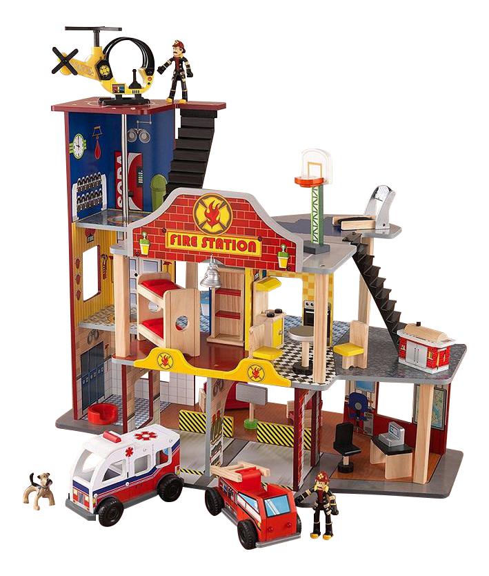 Игровой набор KidKraft Пожарно-спасательная станция делюкс