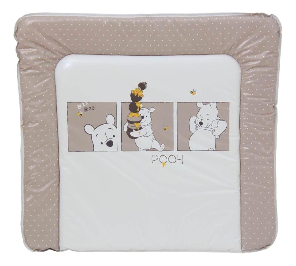 Доска пеленальная мягкая Polini Disney baby Медвежонок Винни, белый-макиато