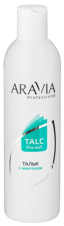 Тальк с ментолом для подготовки кожи к эпиляции Aravia Professional 1030 160 г
