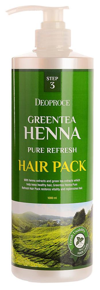 Маска для волос Deoproce GreenTea Henna Pure