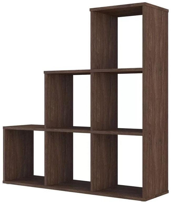 Купить Каскадный 6 секций, винтаж, Стеллаж Polini Home Smart Каскадный 6 секций, Винтаж, Polini Kids,