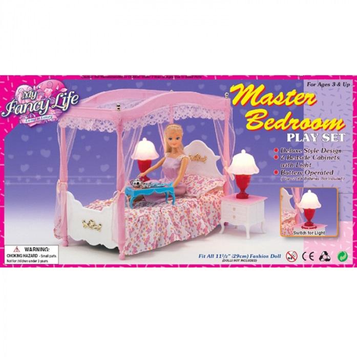 Набор мебели для кукол спальня Shantou Gepai