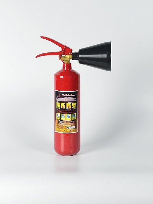 Автомобильный огнетушитель углекислотный Ярпожинвест ОУ-1